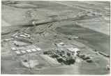 Aerial view of the gas plant, Tioga, N.D.