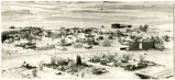 Aerial view during winter of Epping, N.D.
