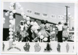 Bicentennial parade, Ray Square-naders float, N.D.