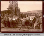 Big Viking Oil Co. oil celebration, southeastern Williams County, N.D.