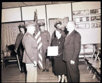 Awarding a Bronze Star Medal