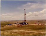 Amerada oil well, South of Tioga, N.D.