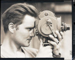 Portrait of Ray Lawless, motion photographer of 164th Signal Photo Co. in Tibet