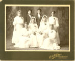 Mock wedding, c. 1906