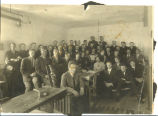 Manual training class, 1912-1913