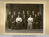 Group of Concordia students, ca. 1907