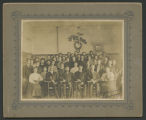 Students at Sheyenne River Academy, Harvey, N.D.