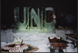 UND ice sculpture, Grand Forks, N.D.