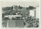 Part of midway at the Wells County Fair, Fessenden, N.D.