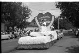 Chamber of Commerce Float, Ashley Diamond Jubilee parade, Ashley, N.D.