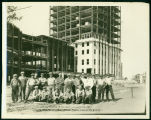 Construction of North Dakota State Capitol Building, Bismarck, N.D.