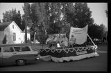 Ashley Woman's Club float, Ashley Diamond Jubilee parade, Ashley, N.D.