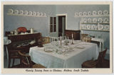 Family Dining Room in Chateau, Medora, N.D.