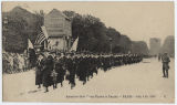 American Red Cross Nurses in parade, Paris, France