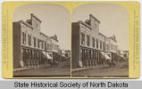 Broadway from intersection of North 2nd Ave, Fargo, Dakota Territory