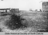 Early view of Williston, N.D.