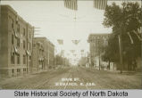 Main Avenue looking west, Bismarck, N.D.