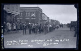 Juvenile Band, Play Day Parade, Hettinger, N.D.