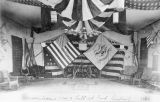 Decorations for a ball, Fort Buford, Dakota Territory