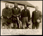 Leaders of Indian Council, Fort Berthold Indian Reservation, Elbowoods, N.D.