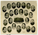 Composite of the Sanish High School Class of 1940
