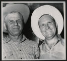 Gene Autry with Leo J. Cremer
