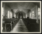 Interior, St. Mary's Catholic Church, Bismarck, N.D.