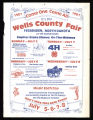 1981 Wells County Fair Poster