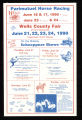 1990 Wells County Fair Poster