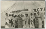 Votes for Women League tent at Bottineau County Fair