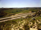 Interstate 94 in the North Dakota Badlands