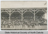 A section of grandstand at North Dakota State Fair, Minot, N.D.