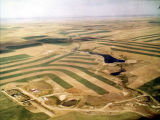 Strip farming in North Dakota
