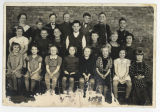Third and fourth grade classes, Bowdon, N.D.