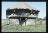 Reconstructed block house, Fort Abercrombie, N.D.