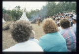 Native American ceremony, Knife River Indian Villages Historic Site, N.D.