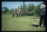 Mohall American Legion Colour Guard, Memorial Day Service, McKinney, N.D.
