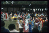 Grand entry with Miss  Indian America and Miss United Tribes, United Tribes International Powwow,...