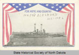 For home and country, U.S.S. North Dakota