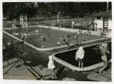 Swimming pool at Ellery Park, Rugby, N.D.