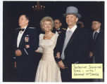 Governor and Jane Sinner with Major General Alexander P. McDonald at the North Dakota Centennial...