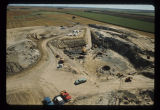 Excavation and building of launch facility, North Dakota