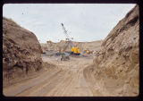 Excavation site preparation for construction of Missile Launch Facility I-37 Southwest of Tolna,...