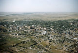 Aerial view of Bismarck, looking to the northwest