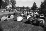 Soap Box Derby cars, Bismarck, N.D.