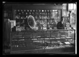 Display inside store E.H. Gross' store, Kenmare, N.D.