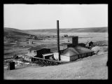Power house at Hard Luck Mine in Tasker's Coulee, Kenmare, N.D.