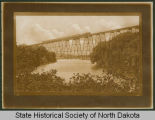 Northern Pacific Railroad bridge, Valley City, N.D.