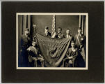 American Legion Kern-Thompson Post No. 77 members portrait, taken during 6th National Convention,...