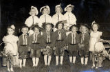 Girls in Golden Jubilee celebration, Bismarck, N.D.